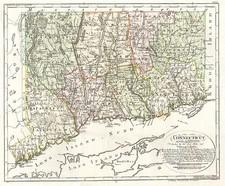 New England Map By Daniel Friedrich Sotzmann