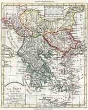 Europe, Balkans, Turkey, Balearic Islands and Greece Map By Alexandre Blondeau