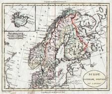 Europe and Scandinavia Map By Alexandre Blondeau