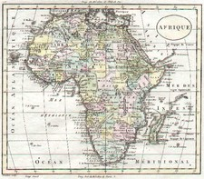 Africa and Africa Map By Alexandre Blondeau
