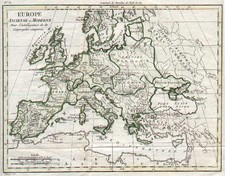 Europe and Europe Map By Alexandre Blondeau