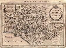 Mid-Atlantic and South Map By Pieter van den Keere