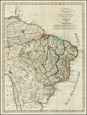 Brazil Map By Franz Pluth