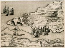 Brazil Map By I. Commelyn