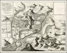 Brazil Map By Mattheus Merian