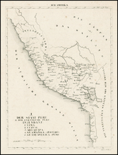 South America Map By Schleiben