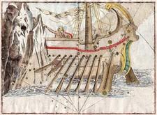 World, Curiosities and Celestial Maps Map By Johann Bayer