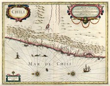 South America Map By Henricus Hondius