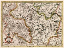 Europe and Poland Map By Gerhard Mercator