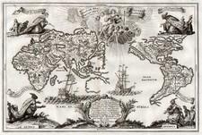 World, World, Australia & Oceania and Australia Map By Heinrich Scherer