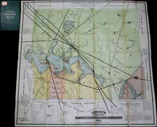 North Dakota Map By Heber M. Creel