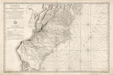 Mid-Atlantic and Southeast Map By Antoine Sartine