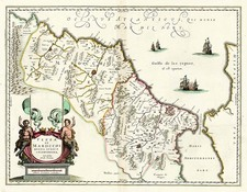 Africa and North Africa Map By Willem Janszoon Blaeu