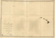 Hawaii, Australia & Oceania, Oceania and Hawaii Map By Jules Sebastian Cesar Dumont-D'Urville