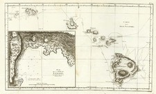 Hawaii, Australia & Oceania and Hawaii Map By James Cook