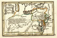 Mid-Atlantic, Southeast and Midwest Map By John Gibson