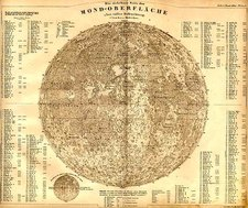 World, World, Curiosities and Celestial Maps Map By Adolf Stieler