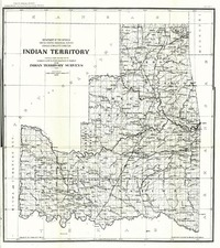 Plains and Southwest Map By United States Department of the Interior
