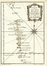 Map By Jacques Nicolas Bellin