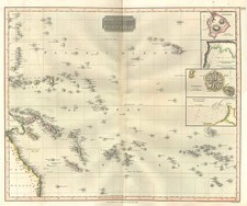 World, Australia & Oceania, Pacific, Oceania, Hawaii and Other Pacific Islands Map By John Thomson