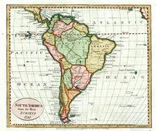 South America Map By John Payne