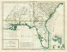 South and Southeast Map By Pierre Antoine Tardieu