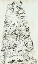 Southeast, Texas, Midwest and Plains Map By Vincenzo Maria Coronelli