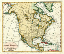 North America Map By John Payne