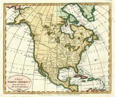 North America Map By John Payne