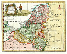 Europe and Netherlands Map By William Guthrie