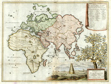 World, World, Asia, Asia, Southeast Asia and Holy Land Map By Willem Albert Bachienne