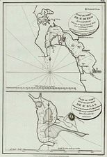 Mexico and California Map By Jean Francois Galaup de La Perouse