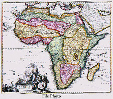 Africa and Africa Map By Peter Schenk