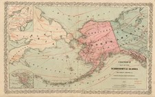 World, Alaska and Pacific Map By G.W.  & C.B. Colton