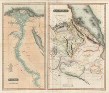 Africa, North Africa and East Africa Map By John Thomson