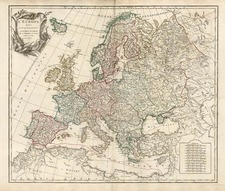 Europe and Europe Map By Didier Robert de Vaugondy