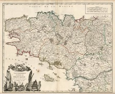 Europe and France Map By Didier Robert de Vaugondy