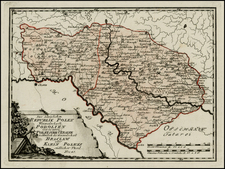 Ukraine Map By Franz Johann Joseph von Reilly
