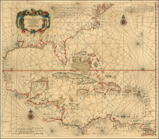 South, Southeast, Caribbean and Central America Map By Arnold Colom