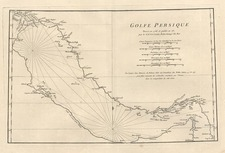 Asia and Middle East Map By Jean-Baptiste Bourguignon d'Anville