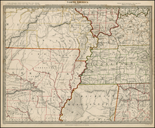 South, Midwest and Plains Map By SDUK
