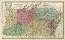 Mid-Atlantic, Southeast and Midwest Map By D.F. Robinson