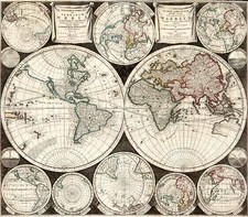 World and World Map By Carel Allard