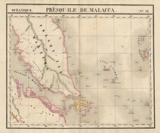 Asia, Southeast Asia, Australia & Oceania, Oceania and Other Pacific Islands Map By Philippe Marie Vandermaelen