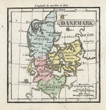 Europe and Scandinavia Map By Denisle-Tardieu