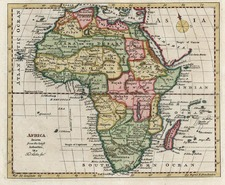 Africa and Africa Map By Thomas Kitchin