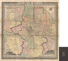 Mid-Atlantic Map By James Charles Sidney / Robert Piersall Smith
