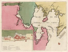South America and Brazil Map By Willem Janszoon Blaeu