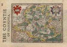 Europe and Netherlands Map By Jodocus Hondius - Michael Mercator