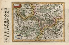 Europe and France Map By Jodocus Hondius - Michael Mercator